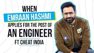 Emraan Hashmi applies for the job of an engineer - Watch what happens next! | Cheat India