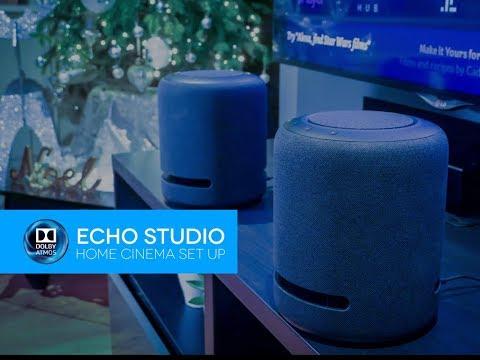 TWO Amazon Echo Studio's Home Cinema Dolby Atmos Set Up & Demo