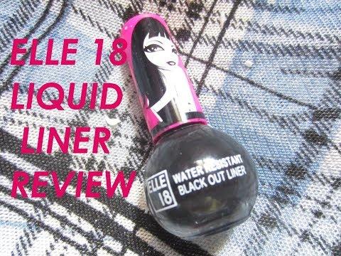 ELLE 18 Liquid Liner Review