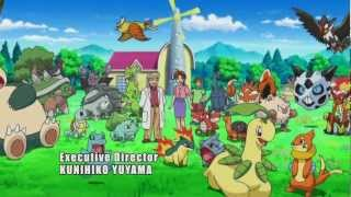 *LYRICS* Pokemon Black and White 2 Season 16 Adventures in Unova Theme Song