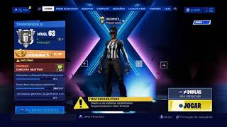 Fortnite-I bought the whistle warrior Skin