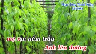 Hoa Cau Vườn Trầu - Karaoke Nhạc Sống Thanh Ngân