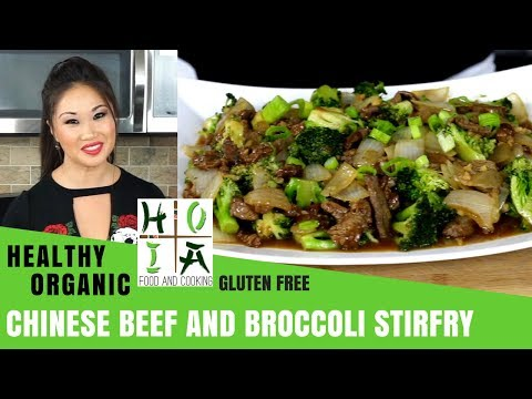 How to Make HEALTHY ORGANIC Chinese Beef and Broccoli Stir Fry | Recipe | Diane Yang Kirk | Ep 29