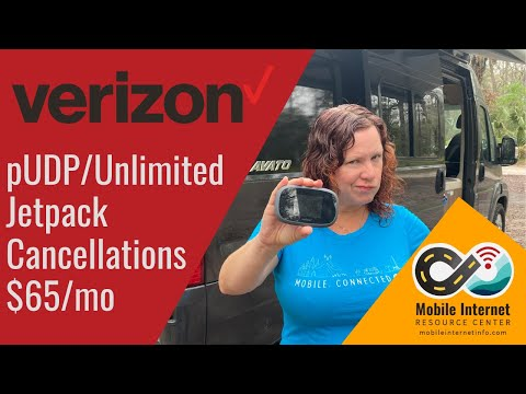 Verizon PUDP Alert: Unlimited Jetpack $65/Mo Plan Cancellations For Excessive Domestic Roaming