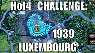 1939 Luxembourg Survives in Hearts of Iron 4