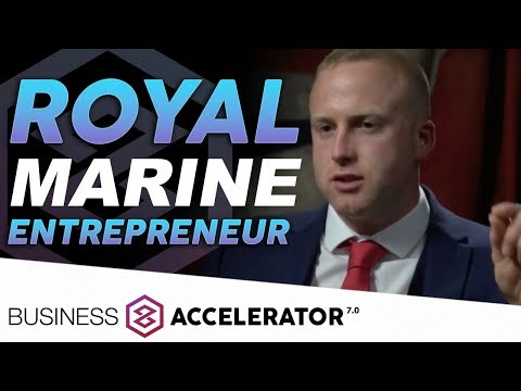 ROYAL MARINE ENTREPRENEUR Jonathon Rainey, London Real Business Accelerator Graduate | London Real