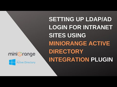 WordPress integration with active directory