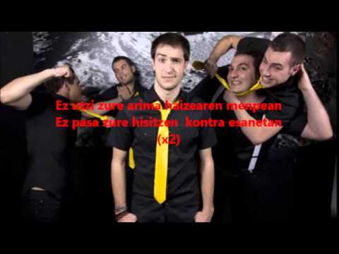 LETRA En Tol Sarmiento- Zure mundua