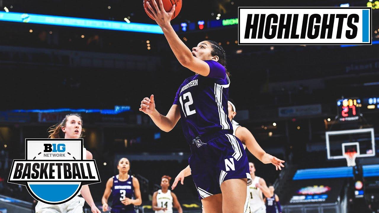 Big Ten tournament: Northwestern women defeat Michigan