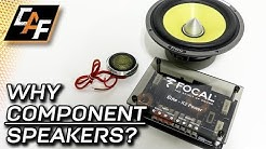 Want AMAZING sound? COMPONENT SPEAKERS & everything YOU should know...