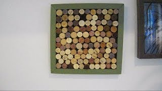 What to do with your cork wine stoppers - a movie by Jonathan Markman