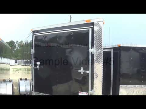 7x10 Enclosed Trailer | Factory Direct Prices