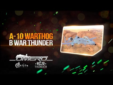 A-10 WARTHOG В WAR THUNDER! 30мм ГАТЛИНГ-ПУШКА аннигилирует танки!