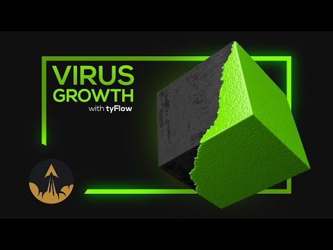tyFlow & tyMesher VFX Tutorial - Mesh Growth by RedefineFX