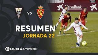 Resumen de Albacete BP vs Real Zaragoza (1-0)