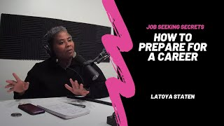 The Job Seeking Process: Preparing for a Career | The Cybrary Podcast