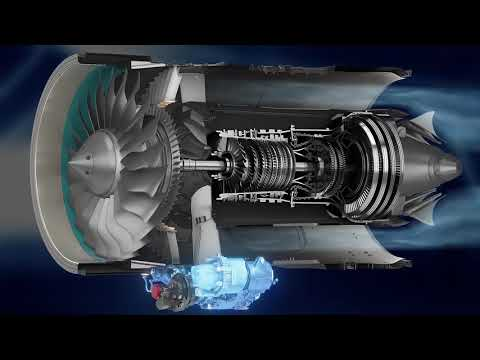 How the PW800 Engine Works