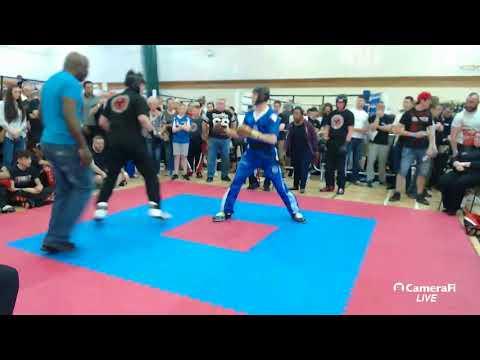 Light Contact Kickboxing Adults WKU England British Open 2018 - Part 1