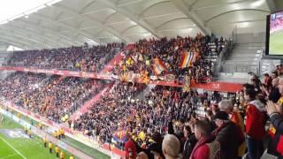 Reims - Lens, ambiance pendant le match !!!