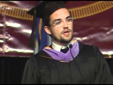 2012 College of Design Commencement | John Cary (B.Arch '99)