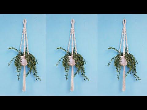 diy-simple-macrame-plant-hanger-without-ring-|-beginner-tutorial-|-lit-decor