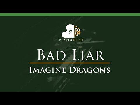 Imagine Dragons - Bad Liar - LOWER Key (Piano Karaoke / Sing Along)