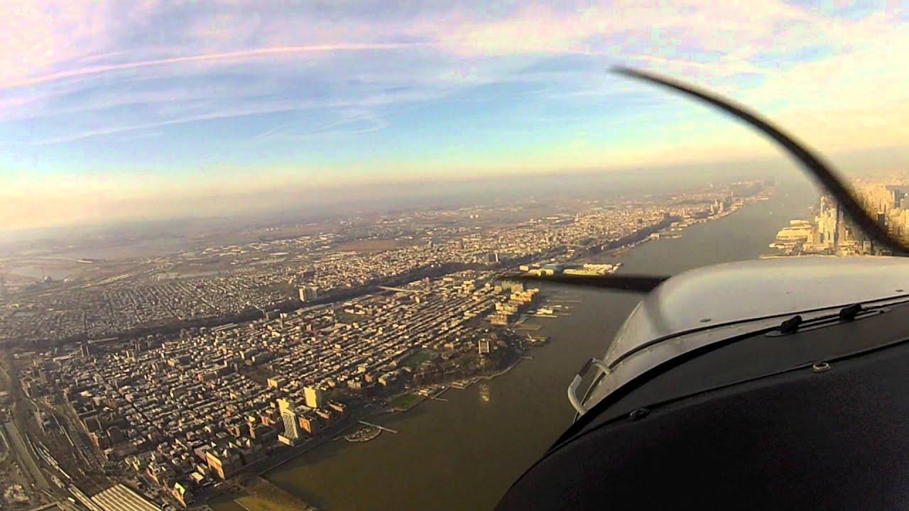 Fantastic Flight over Newark Liberty International Airport to Freedom Tower. New York City - YouTube
