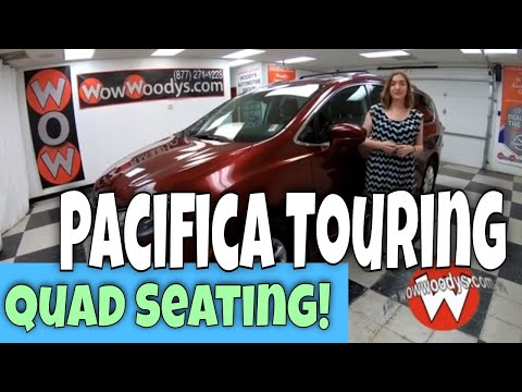 2018 Chrysler Pacifica Touring L 18JF31 Review | Video Walkaround | Used Vans for Sale at WowWoodys