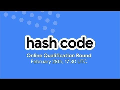 Hash Code 2019: Online Qualification Round Livestream