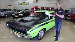 1970 Plymouth AAR 'Cuda for sale with test drive, driving sounds, and walk through Mp3