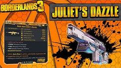 Borderlands 3   Juliet's Dazzle Legendary Weapon Guide (Piercing Rounds!)