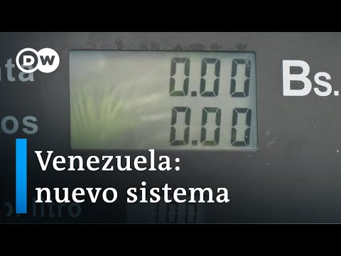 Nuevo sistema de cobro de combustibles en Venezuela