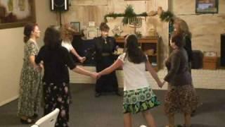 DANCE PRACTICE:  Y'VARECHECHA (AARONIC BLESSING) by Lenny & Varda