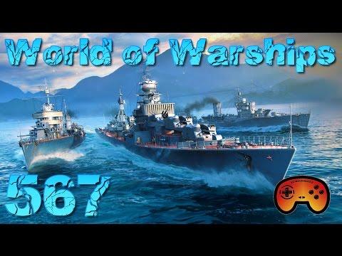 Fiji und Pensacola ausgeführt #567 World of Warships - Gameplay - German - Deutsch World of Warships