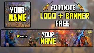 [FREE] Fortnite Banner Template + Logo (Free Download) - | Photoshop TEMPLATE + LOGO For FREE!