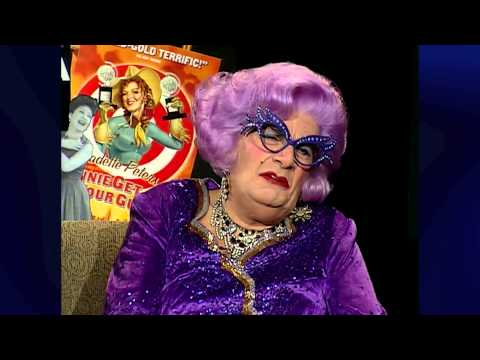 Theater Talk- Dame Edna Everage, Becky Mode and Mark Setlock