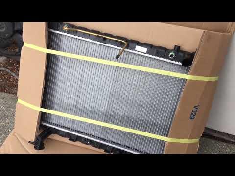 How to replace Radiator on your 01-07 Hyundai Santa Fe