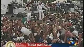 Nada Particular - Juanes y Miguel Bose - Paz Sin Fronteras 2 - La Habana