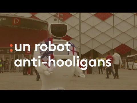 Un robot anti-hooligan - franceinfo
