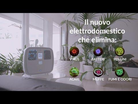 Ozobox: tecnologia 100% naturale per sanificare l'aria, l'acqua e gli ambienti della vostra casa.