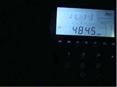 4845kHz - Radio Mauritania received in Germany