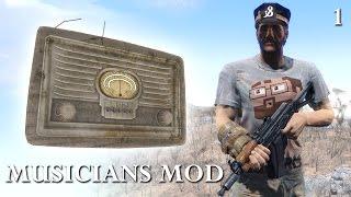 Fallout 4 Quest Mods: Musicians Mod - Part 1 - A Radio Station?!