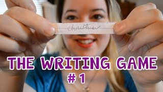 The Writing Game: Challenge 1