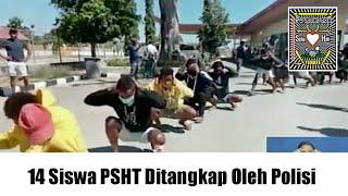 14 Siswa PSHT Ditangkap Oleh Polisi