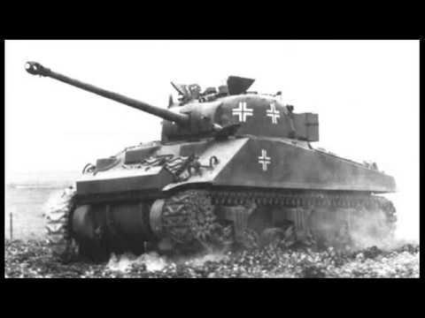 German Use of Captured American Tanks in WW2