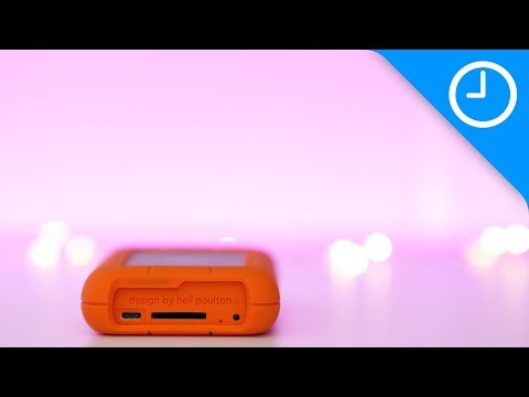 Review: LaCie Rugged RAID Pro 4TB W/built-in UHS-II SD Card Reader