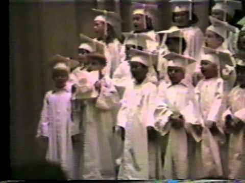 Tallulah Elementary School Graduation - 1981