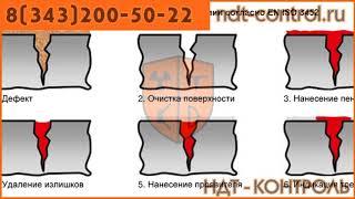 Контроль проникающими веществами Екатеринбург, Кировоград, Краснотурьинск
