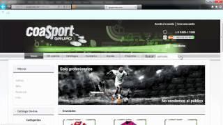 Grupo Coas Sport Vídeo Tutorial