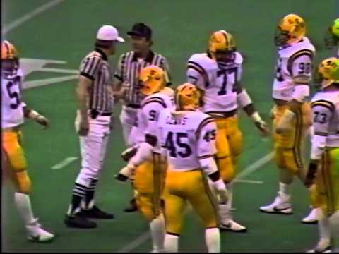LSU vs TULANE 1983 Football in the Superdome